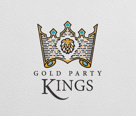 gold party kings